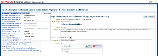 Add or remove rule folders to group compliance rules